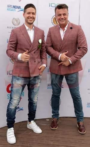 """FOTO / George şi Adi Enache au avut un şoc când au dat nas în nas la un eveniment monden. """"Când fanii se îmbracă la fel"""""""