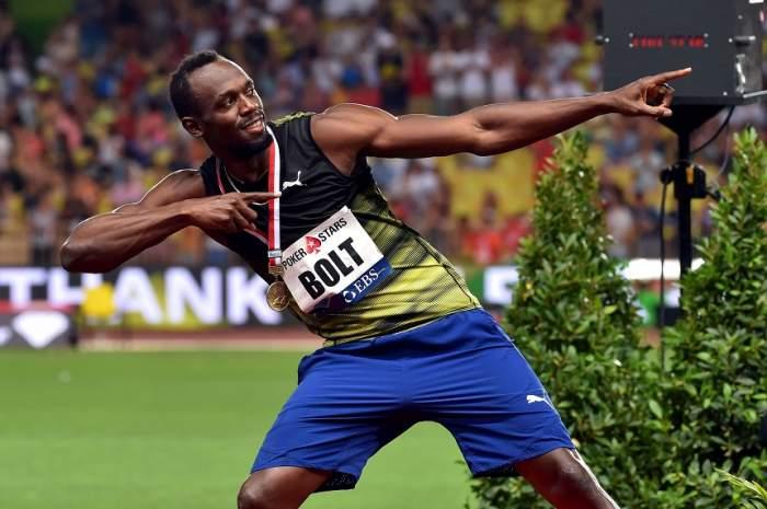 """VIDEO / Usain Bolt vrea să joace fotbal pentru un club uriaş! """"Aştept telefonul antrenorului"""""""