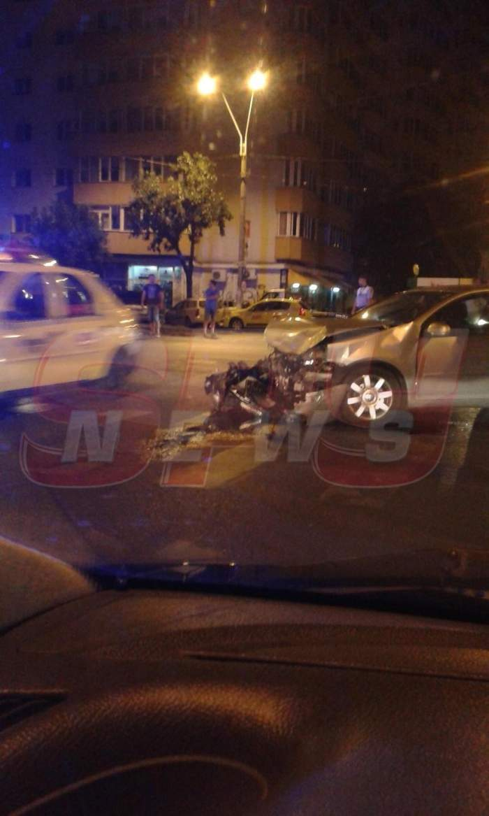 FOTO / Accident grav în Capitală. Două persoane se află în comă