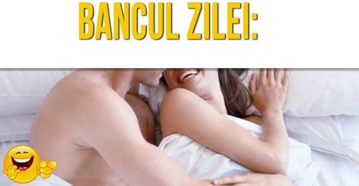 """BANCUL ZILEI - """"Soţul ajunge acasă la 5 dimineaţa.Soția imediat îl ia la ceartă"""""""