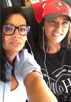 FOTO / Prima imagine cu Antonia şi fiica ei din vizita în Italia! Maya este copia leită a artistei