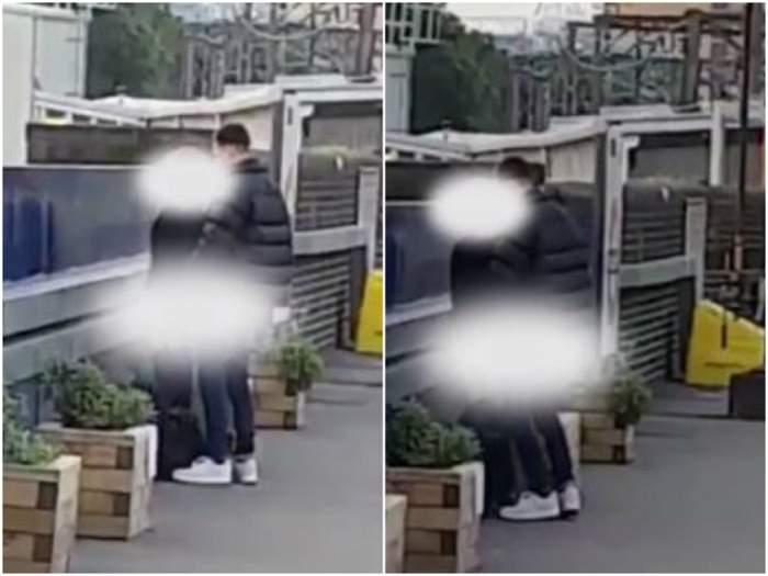 VIDEO / N-au mai avut răbdare până acasă! Doi tineri au făcut sex în stația de tren