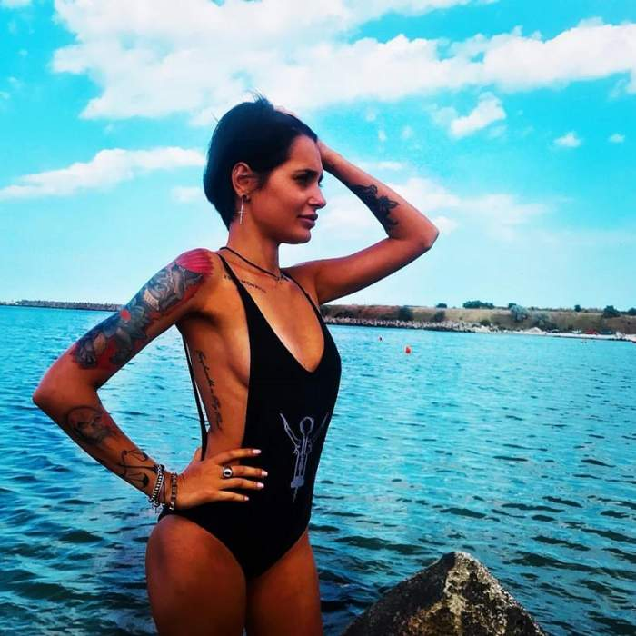 """FOTO / Diana Constantin, de la """"Insula iubirii"""", îi schimbă ca pe ciorapi? După ce a fost abandonată de ispita Andy, s-a afişat cu altul"""