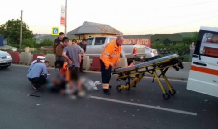 FOTO / Un manelist celebru din Vâlcea a ucis o bătrână cu maşina! A dat bir cu fugiţii imediat după accident