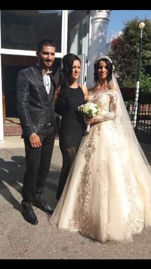 VIDEO / Mihaela și Mihai de la MPFM s-au căsătorit! Fosta concurentă a strălucit în rochia de mireasă