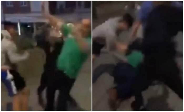 VIDEO / Imagini șocante! Mai mulţi adolescenți au bătut cu brutalitate un om cu nevoi speciale