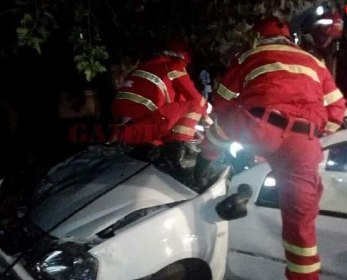 FOTO / Accident grav în Olt! O persoană a murit, iar alte trei au fost rănite, printre care se află și o fetiță de 4 ani