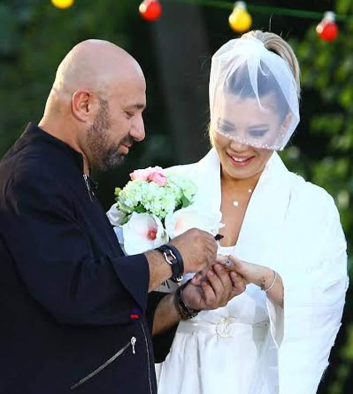 """FOTO / Reacţie neaşteptată după ce Gina Pistol s-a căsătorit cu Cătălin Scărlătescu: """"Am pierdut o luptă, dar nu și războiul"""""""