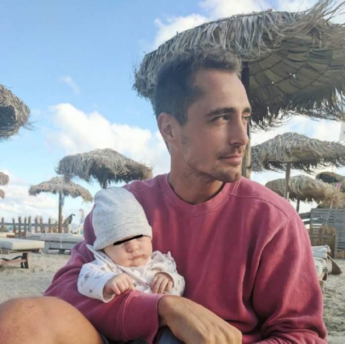 FOTO / Vladimir Drăghia, din nou la mare cu familia! Ce frumoasa e iubita lui