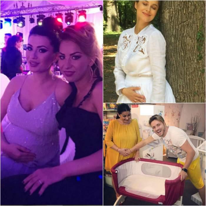 FOTO / O graviduţă a pozat goală în pat!?! Imagini emoţionante cu vedeta însărcinată