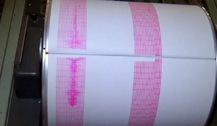 Cutremur de 3,9 grade pe scara Richter în această dimineață!