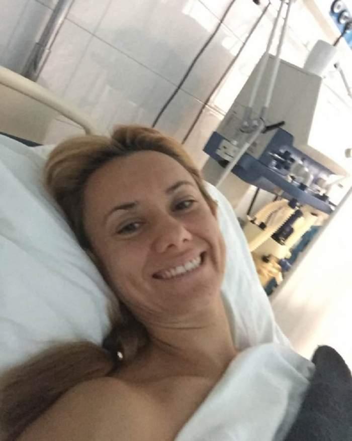 """VIDEO / """"Bebeluşa"""" Oana Ioniţă, primele declaraţii despre operaţie: """"Încă sunt sub efectul anesteziei"""""""