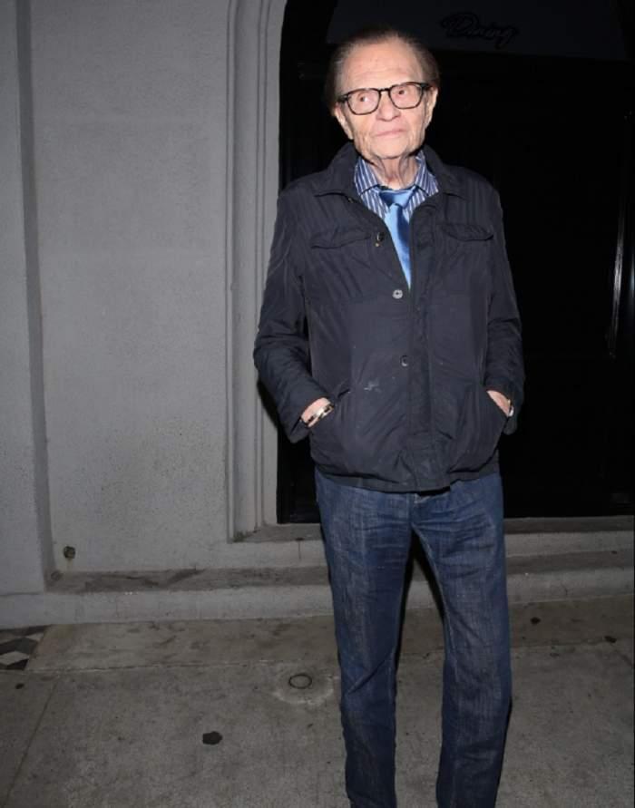 Larry King, diagnosticat cu cancer! A suferit deja o intervenţie chirurgicală