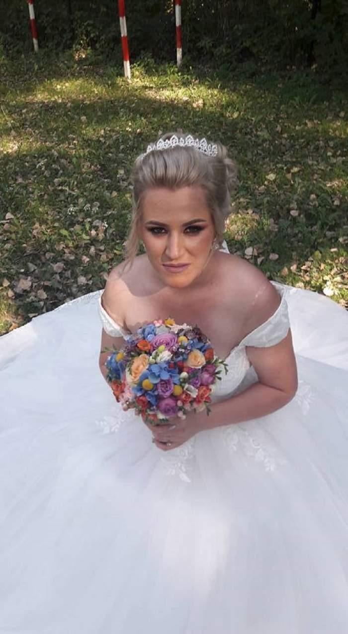 FOTO & VIDEO / Imagini spectaculoase de la nunta Roxanei, fostă concurentă la MPFM! Fiul său a fost în centrul atenției