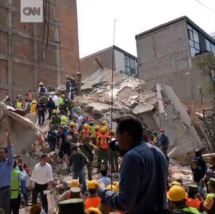VIDEO / Imagini şocante din timpul cutremurului violent din Mexic! Zeci de clădiri s-au prăbuşit şi peste 149 de oameni au murit