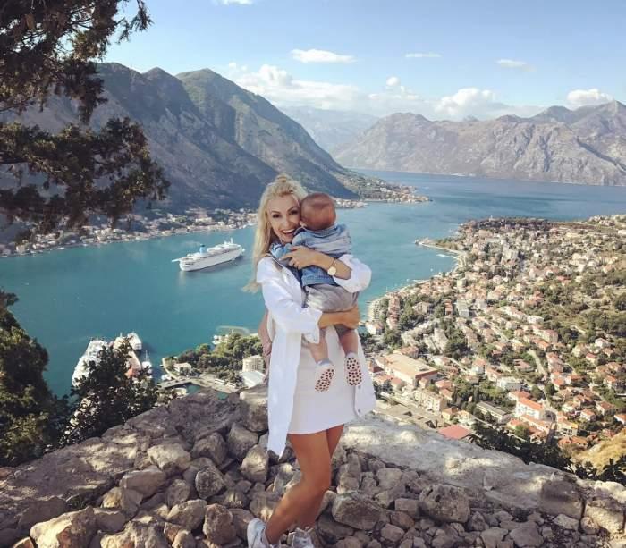 VIDEO / Andreea Bălan, clipe mai puţin puţin plăcute din prima vacanţă în trei! Ce li s-a întâmplat în avion
