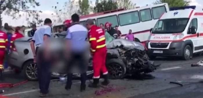 VIDEO / UPDATE: Trei oameni au murit, mai mulţi răniţi, după acccidentul grav din Constanța! PLANUL ROȘU de intervenție a fost activat