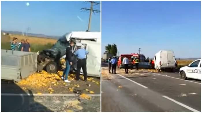 VIDEO / Accident terifiant la ieșire din Vrancea! Un bărbat a murit în urma impactului puternic