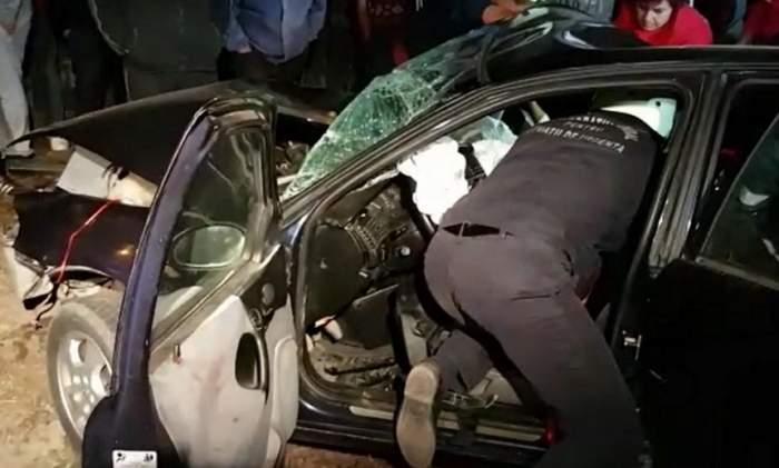 FOTO / Accident înfiorător în Olimp! Un tânăr de 24 de ani a murit în urma impactului violent