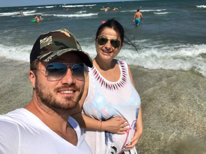 """Gabriela Cristea aşteaptă cu nerăbdare să nască: """"Bine că nu m-a apucat naşterea prin decembrie"""""""