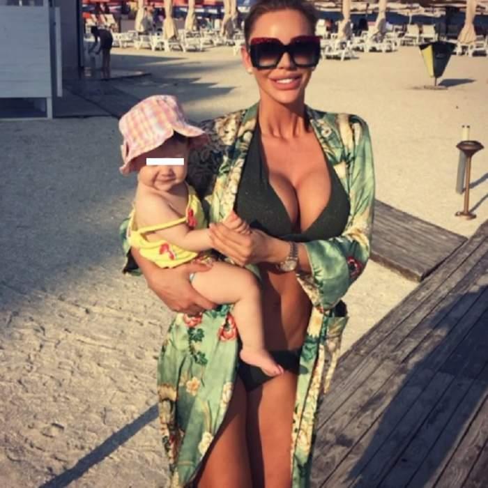 FOTO / Bianca Drăguşanu şi fiica sa atrag din nou privirile! Cum au apărut mama şi fiica în public