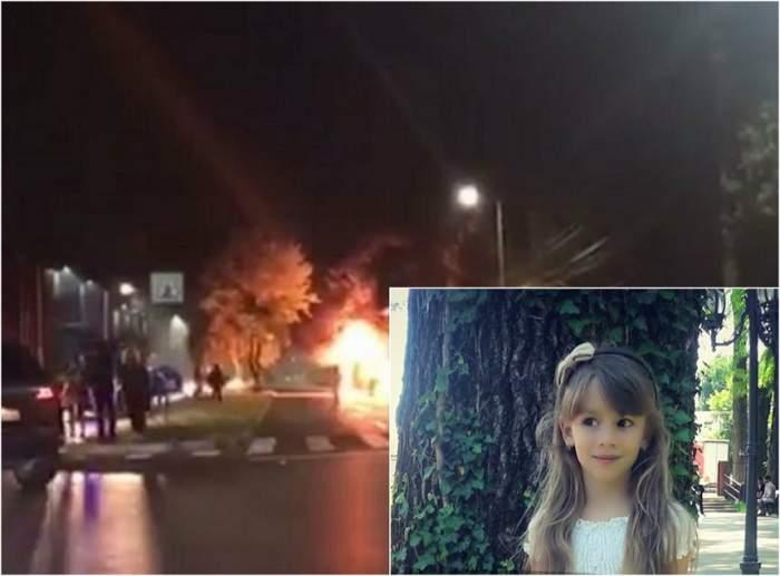 VIDEO / Ipoteză șocantă în cazul Sofiei, fetița arsă de vie în Mamaia! Tatăl micuței ar putea fi vinovat de incendiu