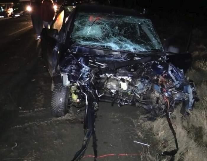 FOTO / Accident teribil în Iaşi! Două fetiţe şi părinţii lor, în stare critică, după ce un şofer inconştient i-a spulberat
