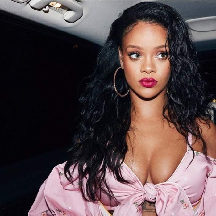 VIDEO / Rihanna a stârnit controverse la înmormântarea vărului ei! Cum s-a îmbrăcat vedeta