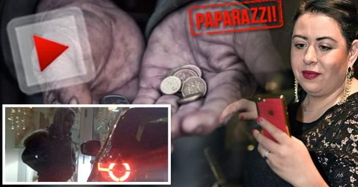 VIDEO PAPARAZZI / Oana Roman e cea mai tare din parcare! Vedeta l-a pus la punct pe un bărbat care a râvnit la banii ei