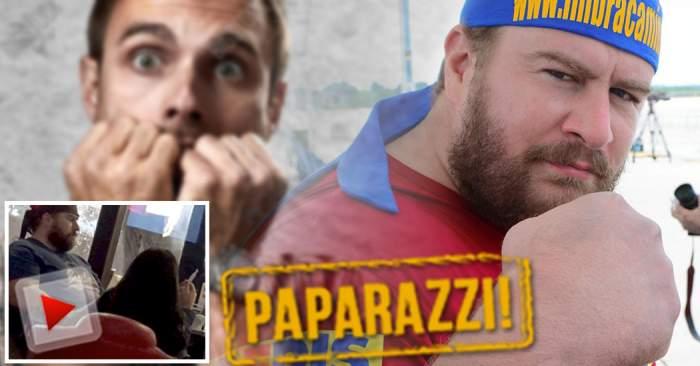 VIDEO PAPARAZZI / Cel mai puternic om din România a fost pus cu botul pe labe! Cine e persoana în faţa căreia Radu Valahu nu mişcă