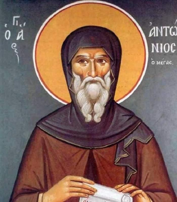 Pe 17 ianuarie îl sărbătorim pe Sfântul Antonie cel Mare! Află în ce probleme trupeşti şi sufleteşti te poate ajuta