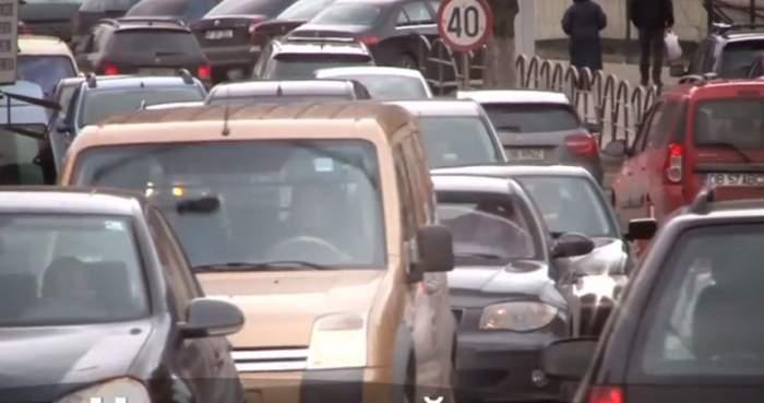 VIDEO / Prăpăd marți după-amiază pe drumul spre Capitală. Mii de șoferi au fost la capătul răbdării