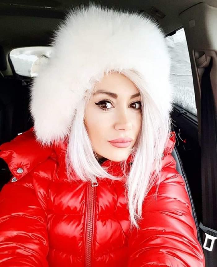 Video / Raluca de la Bambi a fost tăvălită în zăpadă de i-au sărit fulgii! Declarații EXCLUSIVE