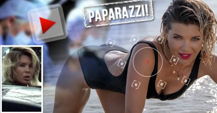 VIDEO PAPARAZZI / Ghinion pentru Gina Pistol! Vedeta a ajuns pe mâinile medicilor, după vacanţa petrecută în Thailanda alături de Smiley!