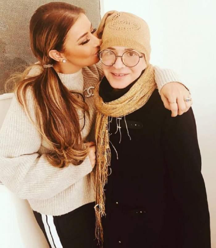 FOTO / Prima imagine cu Ionela Prodan, după ce a fost internată în spital! Fotografia făcută publică de Anamaria Prodan