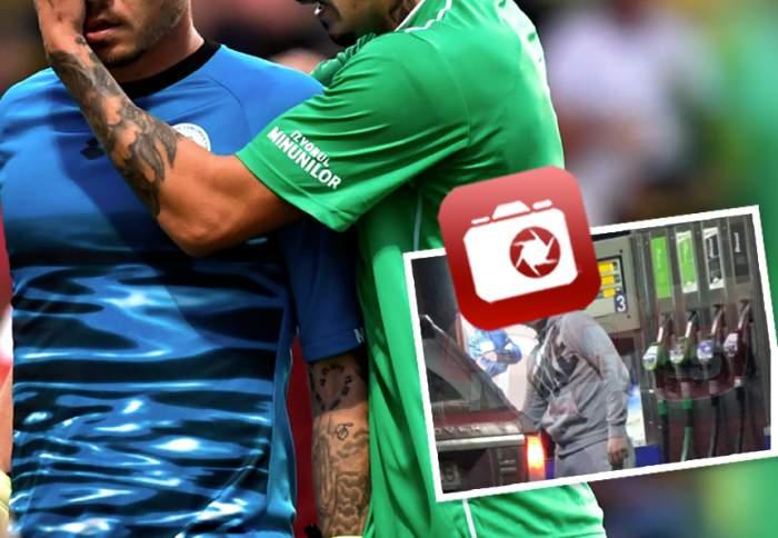VIDEO PAPARAZZI / Schimbare radicală de look pentru unul dintre portarii echipei naţionale! Jucătorul e de nerecunoscut!
