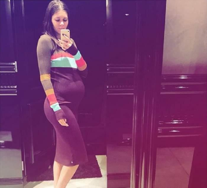 FOTO / Andreea Mitu a născut! Primele imagini cu bebelușul