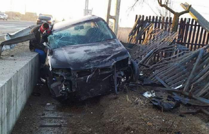 FOTO / Accident teribil în Argeș! Un tânăr a rămas fără un picior