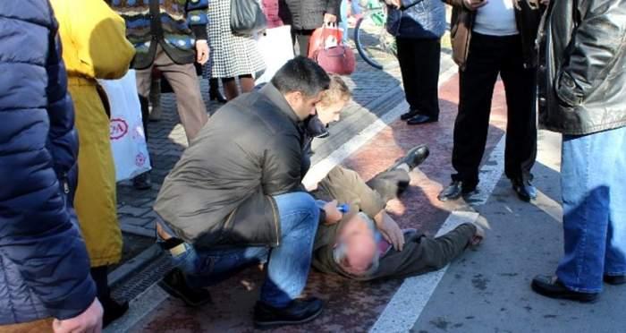 FOTO / Miracol de Bobotează! Ce s-a întâmplat cu un bărbat din Giurgiu, după ce a căzut, din senin, din picioare