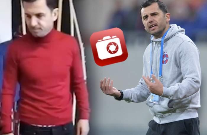Imagini memorabile cu Nicolae Dică! Ăsta e primul lucru pe care antrenorul de la FCSB l-a făcut după sărbători / VIDEO EXCLUSIV