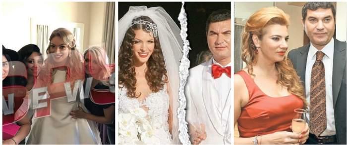 Cât de diferite au fost miresele lui Cristi Borcea! Cine îţi place mai mult: Mihaela Borcea, Alina Vidican sau Valentina Pelinel?