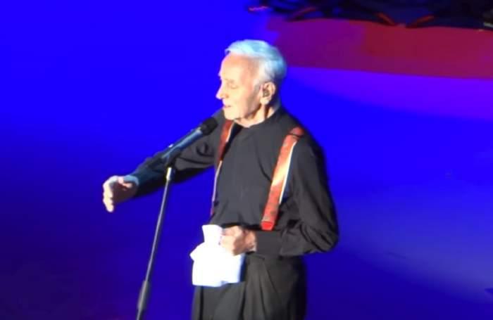 Doliu în lumea muzicii! A murit Charles Aznavour