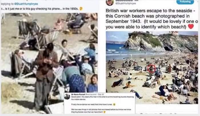 FOTO / Călătorii în timp există?! Detaliul observat în această poză din 1943 a creat isterie online!