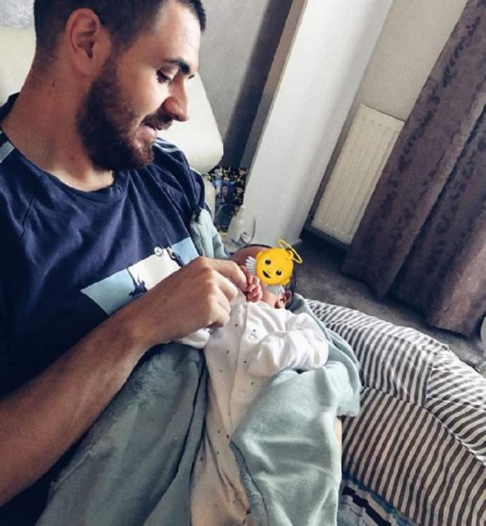 FOTO / Cătălin Vișănescu nu se dezlipește deloc de fiul său. L-a surprins într-o ipostază emoționantă