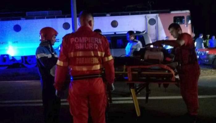 FOTO / Tragedie în Vrancea! Accident mortal în gara Gugeşti