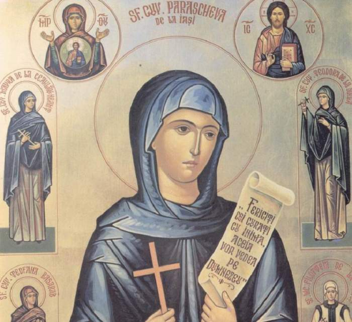 Sfânta Parascheva. Cea mai puternică rugăciune pe care să o spui pe 14 octombrie, pentru a fi ferit de rele