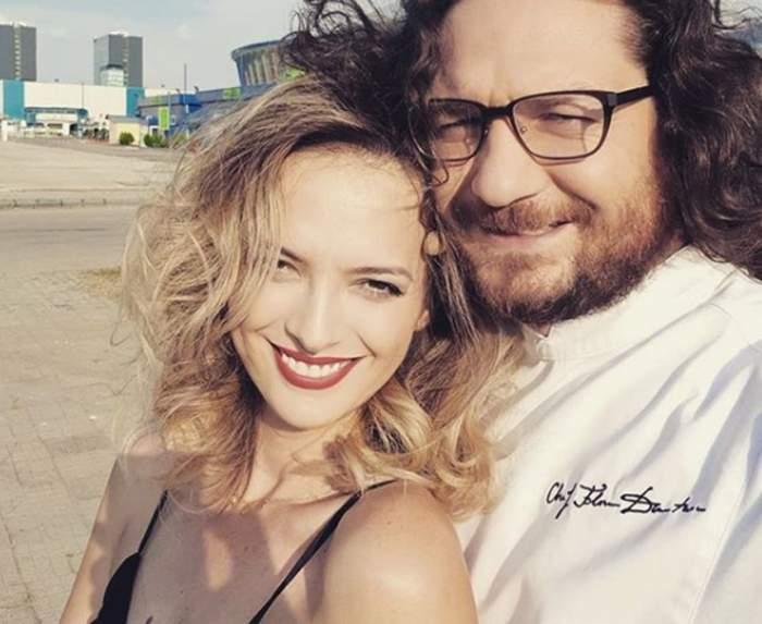 FOTO / Chef Florin Dumitrescu are toate motivele să fie mândru de soţia lui. Cum a reuşit Cristina să-l impresioneze