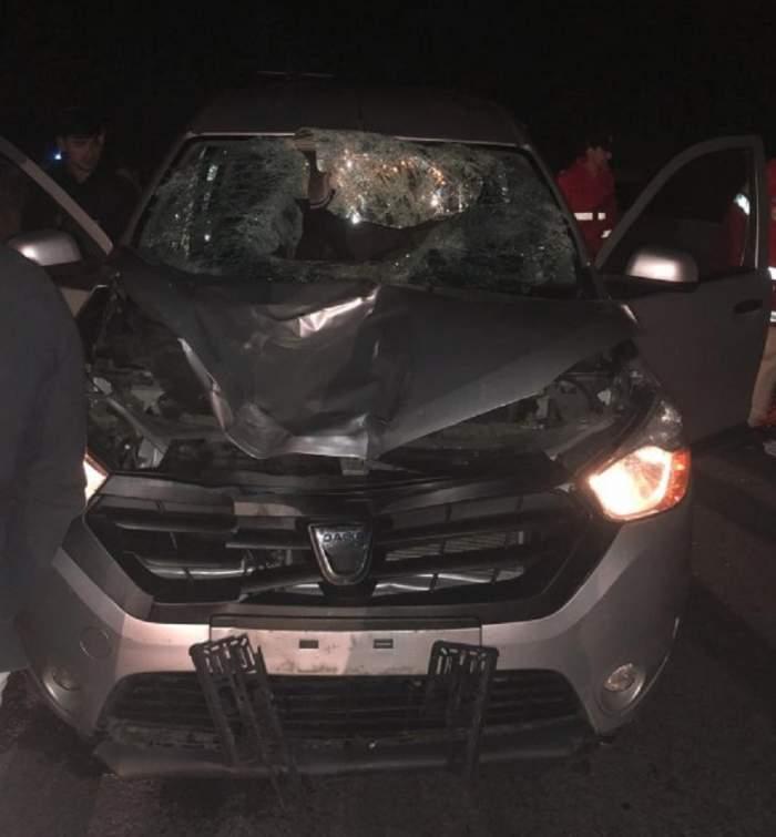 FOTO / Sinucidere pe DN1! Un bărbat a fost lovit de patru maşini