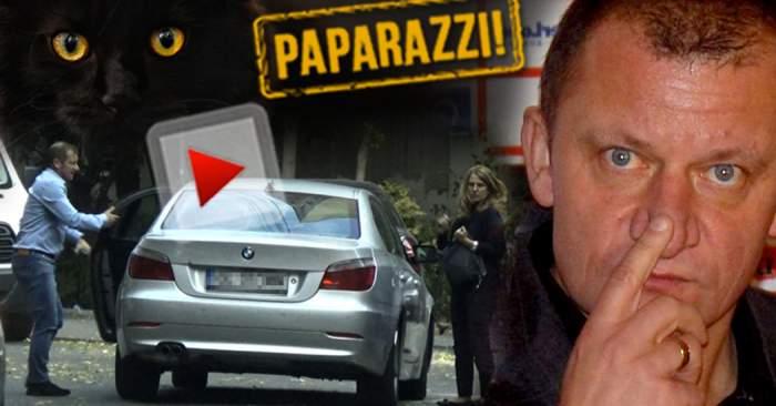 VIDEO PAPARAZZI / Noua nevastă îi poartă ghinion! Dorinel Munteanu, pus într-o situaţie jenantă de faţă cu soţia