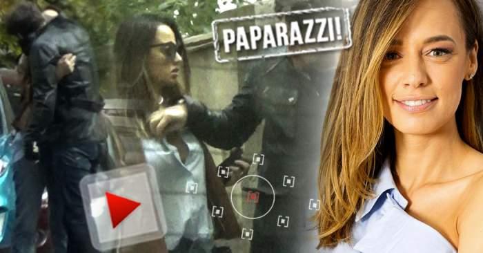 VIDEO EXCLUSIV / Andreea Raicu, surprinsă de paparazzii Spynews.ro în compania unui bărbat! Gesturile care îi trădează pe cei doi